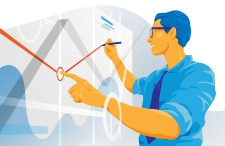 چگونه می توان از خطوط ترند برای تجارت عقب در ExpertOption استفاده کرد؟