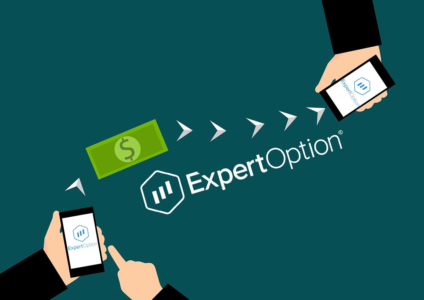 چگونه می توان از ExpertOption پول برداشت کرد