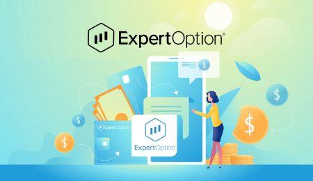 نحوه باز کردن حساب و واریز پول در ExpertOption