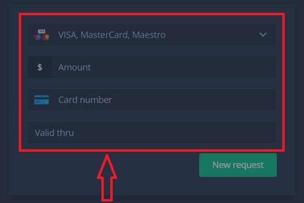 نحوه باز کردن حساب و برداشت پول در ExpertOption