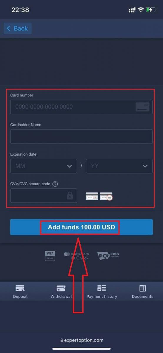 نحوه ثبت نام و ورود به حساب کاربری در ExpertOption Broker Trading